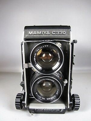 Mamiya C330 w/ 55 f4.5 **AS-IS PARTS ONLY**