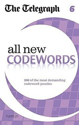 The Telegraph: All New Codewords 6 (The Telegraph Puzzle Books), New Books