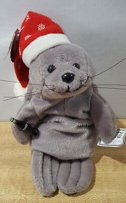 Coca-Cola Christmas Seal Beanie Baby