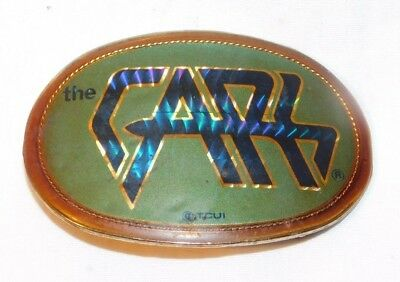 RARE 1978 The Cars Pacifica Rock N Roll Belt Buckle