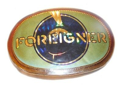 RARE 1978 Foreigner Pacifica Rock N Roll Belt Buckle