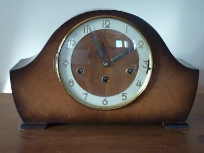 Rare Bentima Triple tune mantel clock with westminister/st michaels/whittington