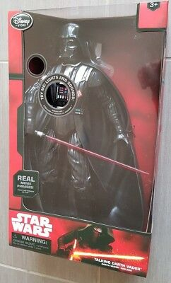 NEU & OVP !!! DISNEY Star Wars Sprechender Darth Vader mit Licht & Sound 37 cm