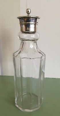 Lovely Vintage/Antique Silver Plate Glass Shaker