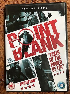Gilles Lellouche Point Blank Superb 2010 French Action Thriller Uk Rental Dvd