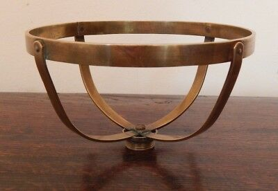 Brass Oil Lamp Basket - for a 6 inch fount
