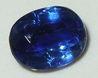 2.68ct Beautiful Top Color Nepal Blue Kyanite Oval Cut 9x7mm SPECIAL