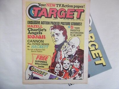 'Target' Comic No.1,14th April 1978 with Free Gift