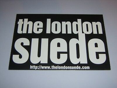 "SUEDE/THE LONDON SUEDE - Beautiful Ones US 6"" x 9"" promo fold-out poster"