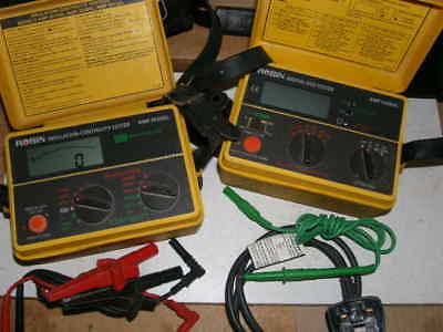 Electronic Test Equipment Robin Continuity Tester &  Robin RCD Tester