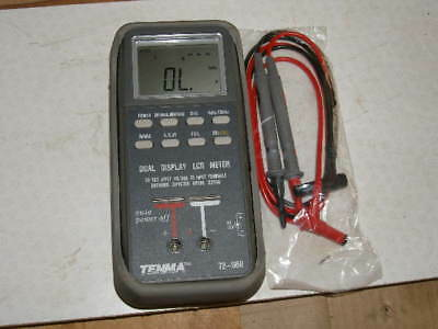 Electronic Test Equipment Tenma 72-960 Dual Display LCR Component Test Meter
