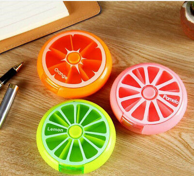 7 Day Weekly Pill Box Medicine Tablet Dispenser Storage Container Organiser Case