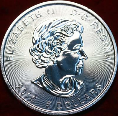Uncirculated 2016 Canada 1 Ounce $5 Superman Silver Nice Foreign Coin