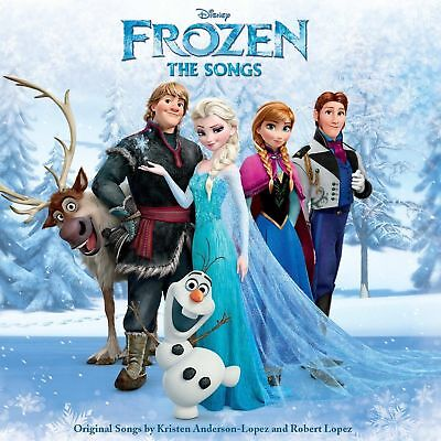 Frozen (The Songs - Soundtrack Cd Sealed + Free Post)