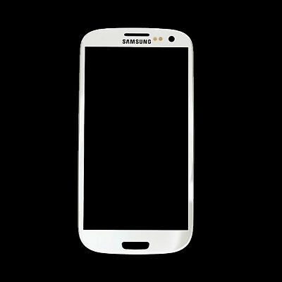 White Touch Screen Glass Digitizer Lens Replacement For Samsung Galaxy S3 i9300
