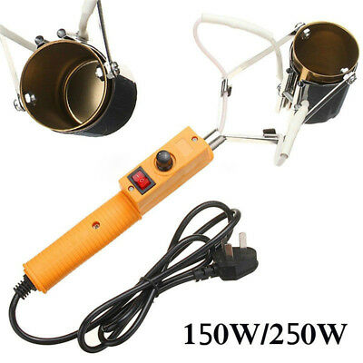 150W/250W Electric Portable Lead Melting Pot Solder Furnace Casting Heads Tin