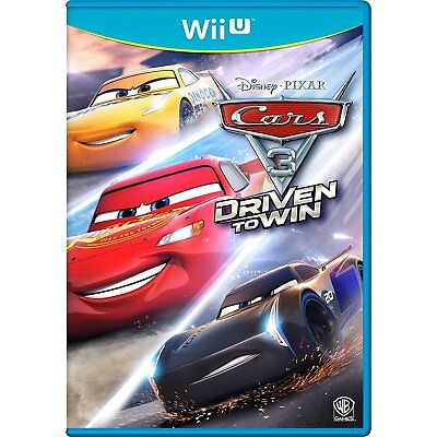 Cars 3 - Driven To Win            Nintendo Wii U         !!!!!!  NEU+OVP !!!!!