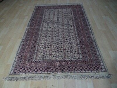 "Oriental Prayer CARPET RUG HAND MADE Antique WOOL traditional 6ft 2"" x 4ft 1"""