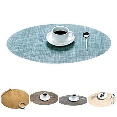 New Tableware Placemats Cup Mats Western Table Coasters Kitchen Dining 97k