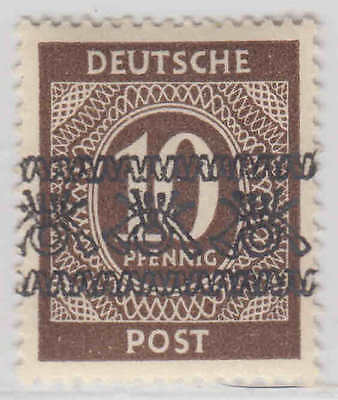 Germany 586 Inverted Overprint Og H M/m Vf Signed Becker Sound Scarce