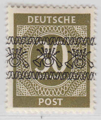 Germany 589 Inverted Overprint Og H M/m Vf Signed Becker Sound Scarce