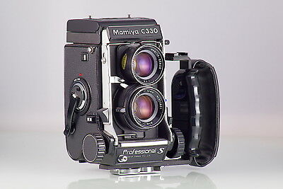 MAMIYA TLR 6X6 C330S Professional + 80mm+WL-finder sekor 80 Blau Dot nahe Minze