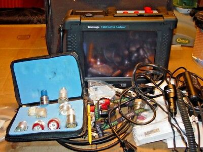 Tektronix Y400 NetTek Analyzer w/ YBA250 YBT250 Y400 SPECTURM ANALYZER