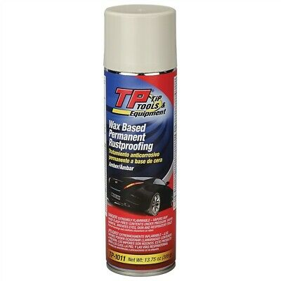 TP Tools® Wax-Based Permanent Rustproofing Coating - 13.75 oz Spray #TP-1011