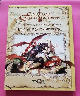 Players Handbook - Castles & Crusades Rpg Osr Roleplay Roleplaying Oop Fantasy