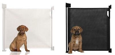 Safetots Advanced Retractable Pet Gate Premium Indoor Dog Guard Puppy Barrier