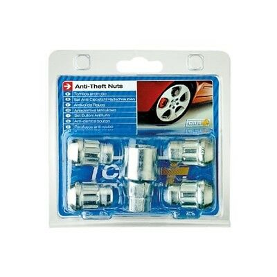 Sumex Anti Theft Locking Wheel Lock Bolt Nuts + Key (12mm x 1.25 Thread)