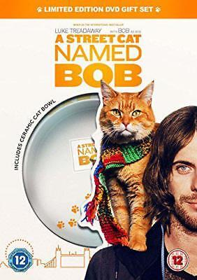 A Street Cat Named Bob (Cat Bowl Limited Edition) [DVD] [2016], DVD, New, FREE &
