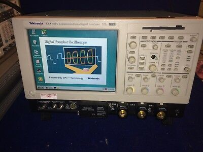 Tektronix CSA7404 Communications Signal Analyzer  4 GHz 20 GS/s DPO  Opt: 1MJ1
