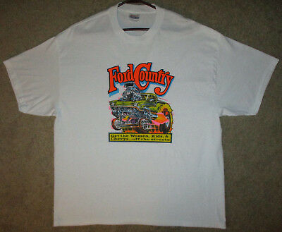 Vintage ROACH Iron On Transfer T-Shirt FORD Country 1973 XL Hanes 50/50 Crew