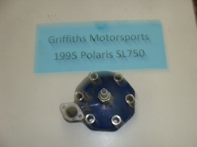 95 94 96 POLARIS SLT750 SLT 750 SL TRIPLE BLUE CYLINDER HEAD NICE A63