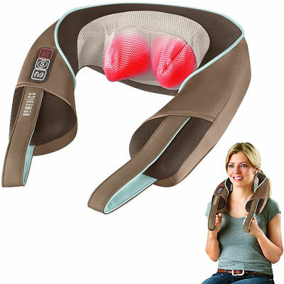 Homedics Shiatsu Plus Neck & Shoulder Massager with Heat