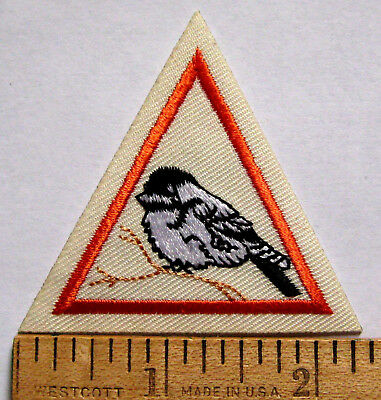 Girl Scout Brownie BIRD TRY-IT Council Own Badge Watching Ornithology Patch