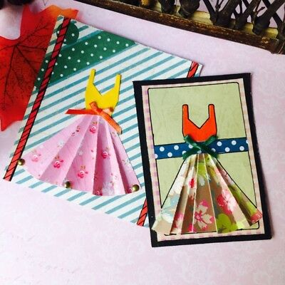 Dress Metal Cutting Dies Stencil DIY Scrapbooking Album Paper Card Embossing