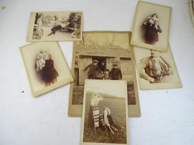 Antique Max Platz CDV Photograph Collection Novelty Chicago IL Gay Interest Vtg