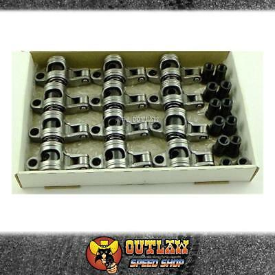"""Crow Cams Ford X/flow 6 Cyl S/steel Roller Rocker Set 1.73 X 7/16"""" - Cccrfx177"""
