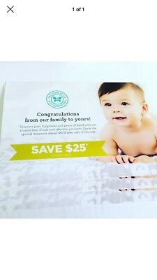 (3)Honest Company $25 off $50 coupons expires 10/31/18 Diapers Formula @ TARGET
