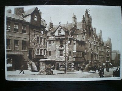 Postcard Edinburgh John Knox House