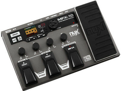 NuX MFX10 Multi-Effects Processor - New