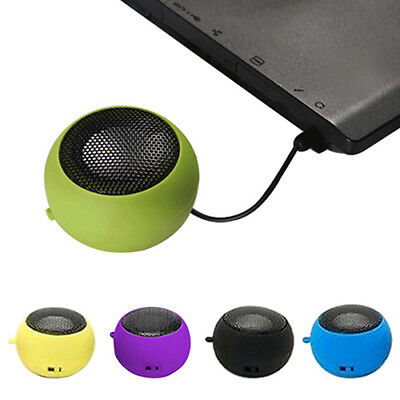 Mini Portable Hamburger Stereoo Speakers Amplifier For iPod For Laptop Tablet PC