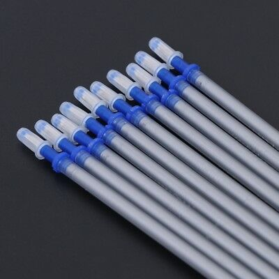 10pcs Silver Refill Pen for DIY Leather Fabric Marking Sewing Craft Tool