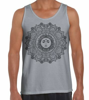 5011b5bcff0fb CAT WITH TATTOOS Hipster Large Print Men's Vest Tank Top - $16.99 ...