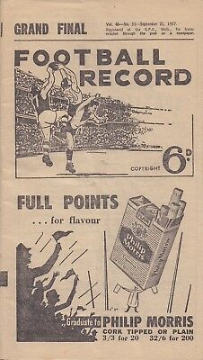 1957  VFL  GRAND  FINAL  Record:  ESENDON  vs  MELBOURNE