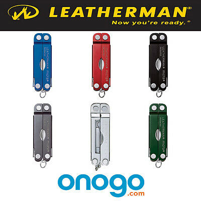 Leatherman Micra 10 Piece Keychain Multi-Tool - 6 Colors Available