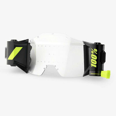 100% New Generation Forecast Motocross Goggle Roll-Off Film System 100 Percent