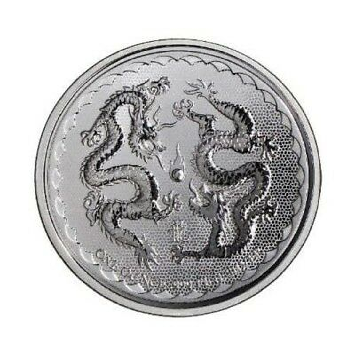 NIUE 2 Dollars Argent 1 Once Double Dragon 2018